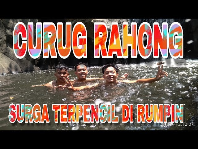 CURUG RAHONG Wisata Baru Yg Lagi Viral | Rumpin Bogor 2018