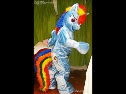 MY LITTLE PONY MASCOT COSTUMES RAINBOW DASH PINKIE PIE ADULT SIZE BIRTHDAY PARTY CHARACTERS
