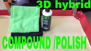 3D ONE Hybrid Compound/Polish Goes Through The Apex Detail Review Process!!