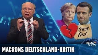 """Gernot Hassknecht: """"Emmanuel Macron hat mit Deutschland Schluss gemacht!"""""""