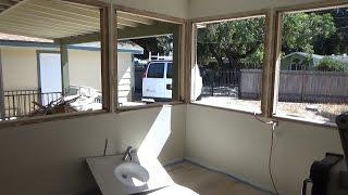 США 4171: Светлана и ее новый проект - окна сегодня не привезли, но жизнь продолжается