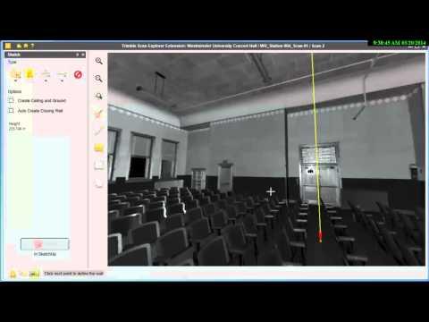 Trimble Scan Explorer Extension for SketchUp™ Pro