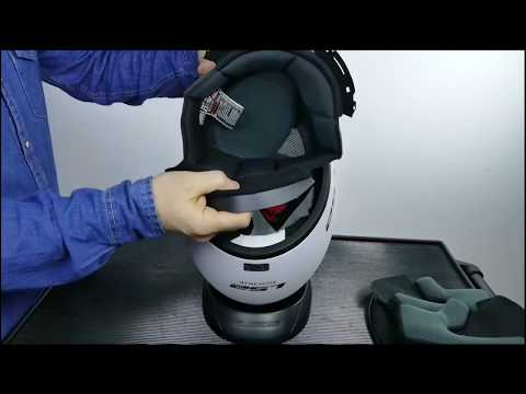 LS2 Rookie FF352 Motorcycles Helmet - How To Change Liner