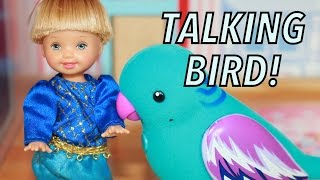 Frozen Disney Princess Anna Kids Toby Little Live Pets Bird Christmas Top Toys 2014 Barbie Parody