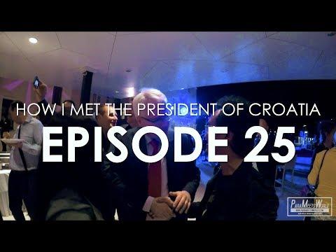 HOW I MET FORMER PRESIDENT OF CROATIA | EPISODE 25 | VLOG | DISCOVER SPLIT PROJECT | ParaMeetsWorld