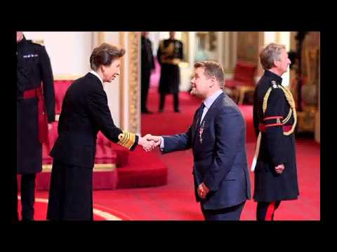 James Corden Awarded OBE by Princess Anne at Buckingham Palace  'It's Overwhelming'