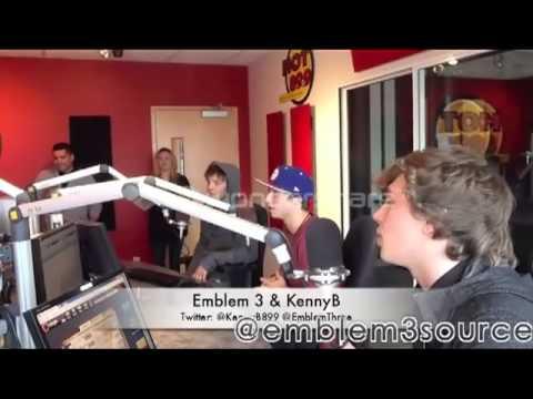 KennyB Interviews Emblem3 Part 1