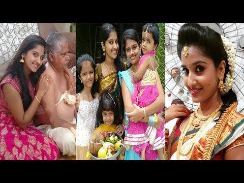Kalyana Vaibhogam Serial Heroine Meghana Real Life Family Photos