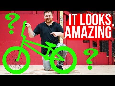 SKEGGSYS NEW BMX BIKE REVEAL! *FRAME GIVEAWAY*