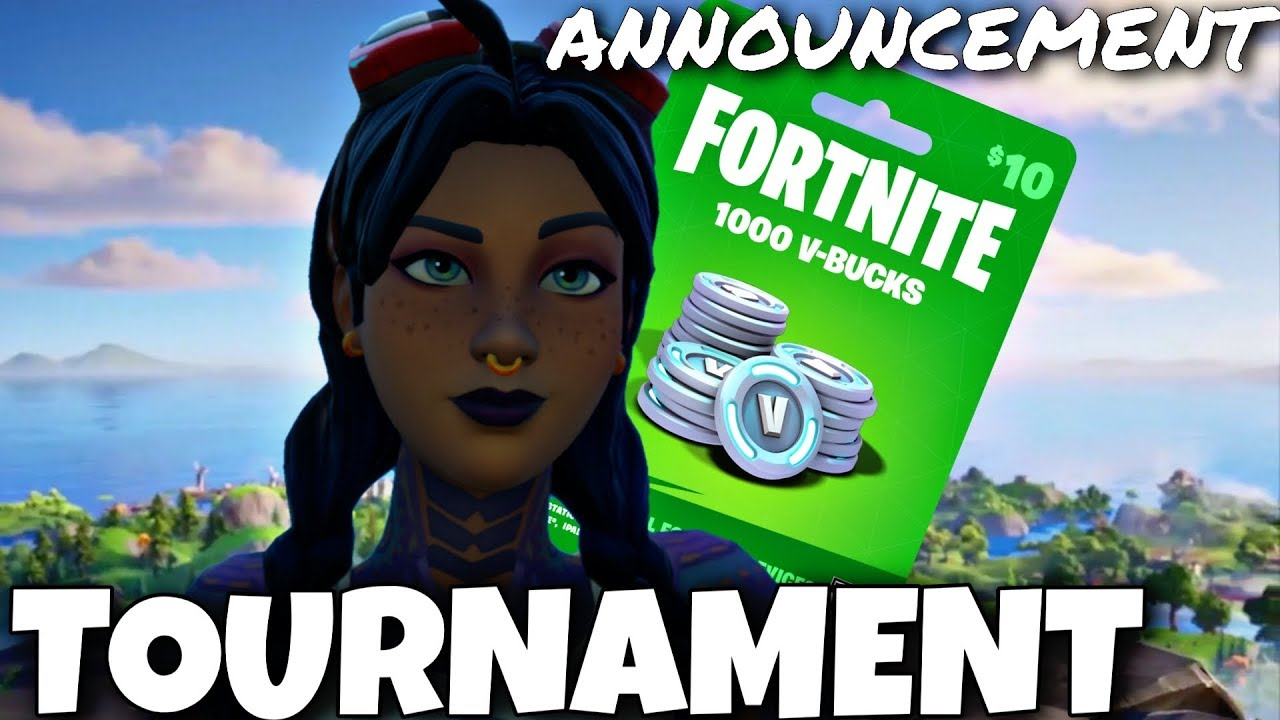 "Fortnite ""TOURNAMENT"" Announcement!"