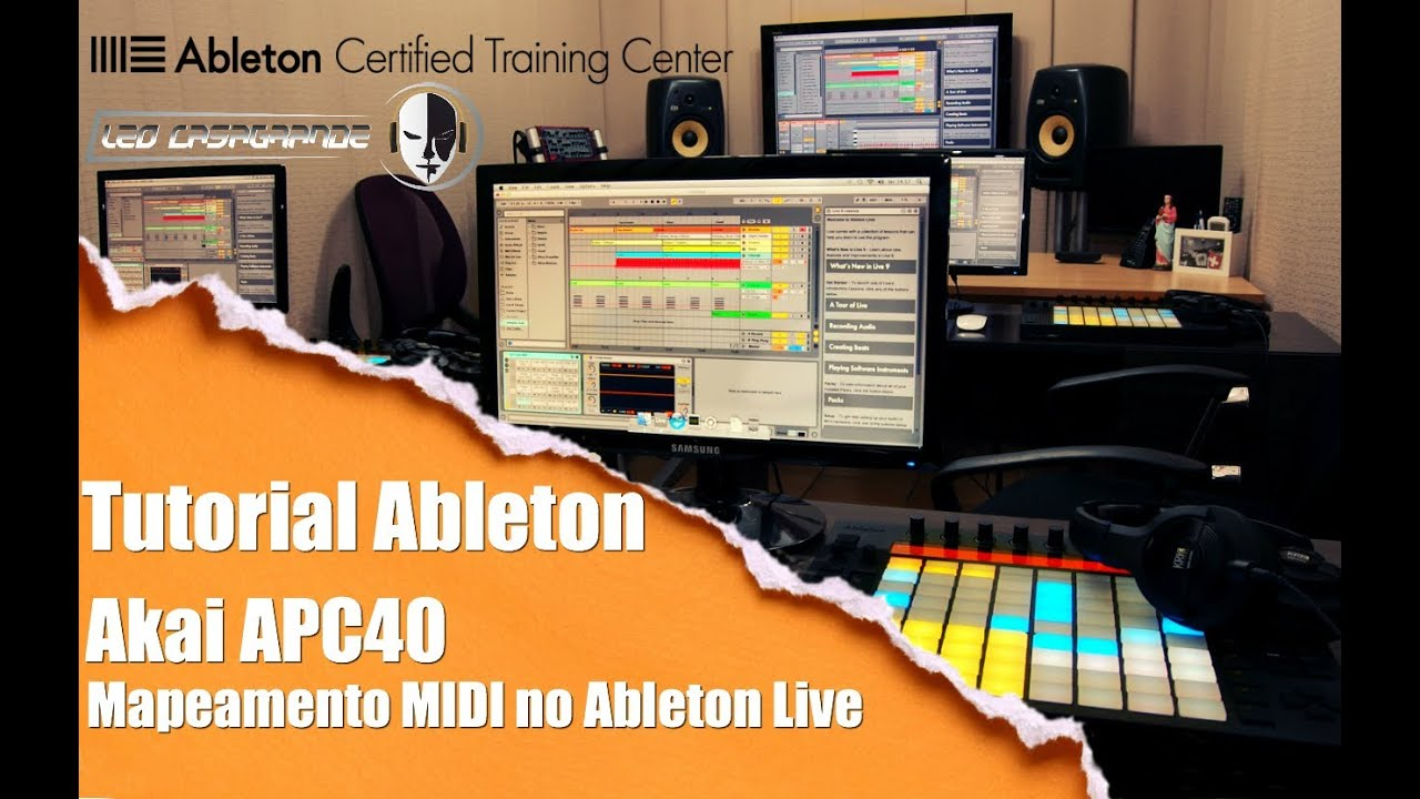 Ableton tutorial #3: how to dj with ableton (free apc 40 template.