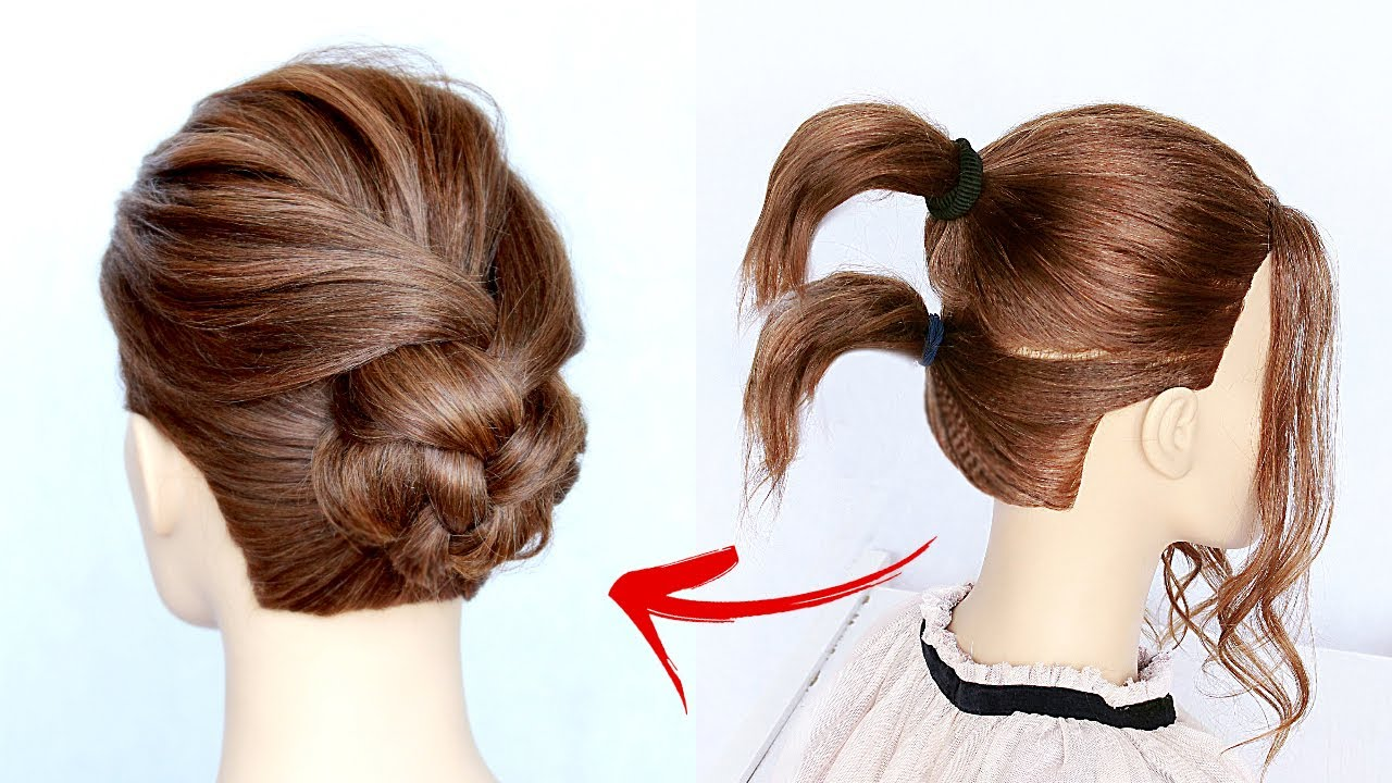 Download ★ 1-MIN EVERYDAY HAIRSTYLE for WORK! 💗  EASY BRAIDS & UPDO for Short 💗 Medium HAIR