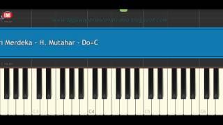 Hari Merdeka - H. Mutahar - Tutorial Piano