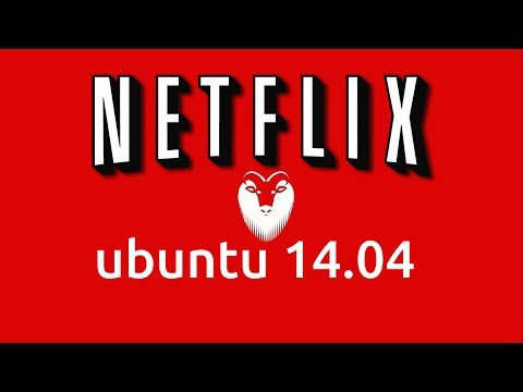 How to install Netflix in Ubuntu Linux 14.04