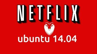 How to install Netflix in Ubuntu Linux 14.04