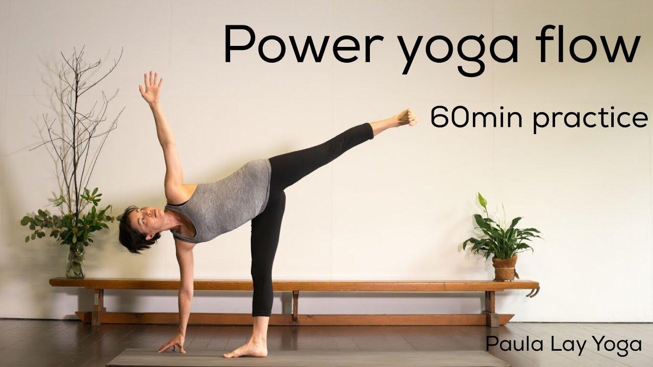 Power Yoga Flow 60min Practice Youtube