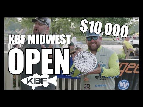 KBF Midwest OPEN | La Crosse, Wisconsin | Kayak Bass Fishing