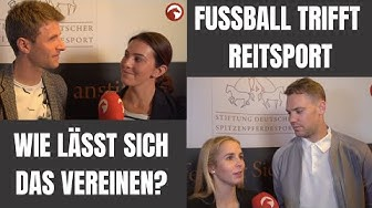 Fußball ⚽️ trifft Reitsport 🐴 | Unsere Stars zeigen Parallelen und Schwierigkeiten!