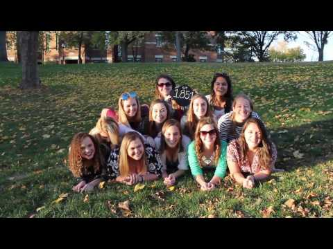 Alpha Delta Pi Wittenberg University | Recruitment 2017