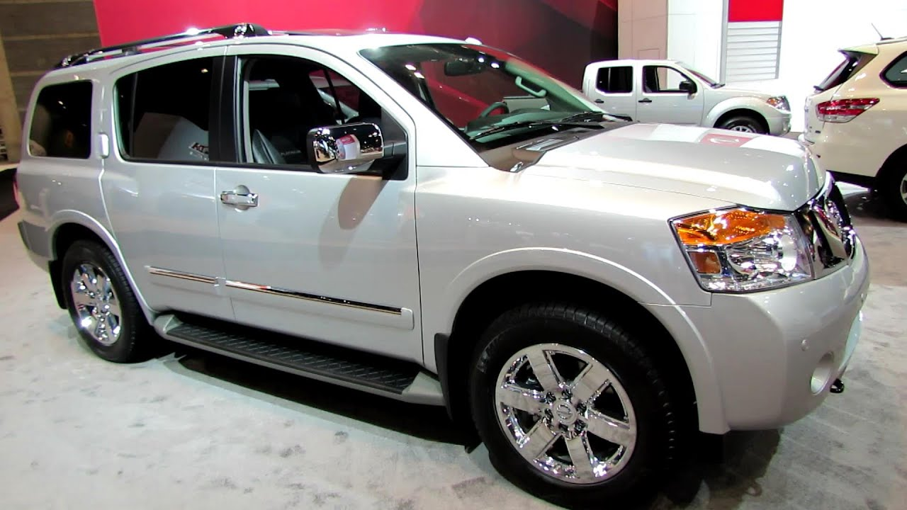2014 nissan armada platinum exterior and interior. Black Bedroom Furniture Sets. Home Design Ideas
