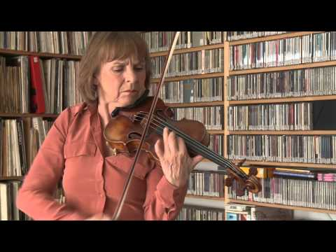 2015 Vera Beths plays Fidget for violin solo (1999), composition Willem Breuker