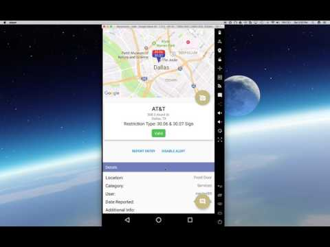 Texas3006.com Android App -- Disabling Proximity Alerts For Individual Businesses