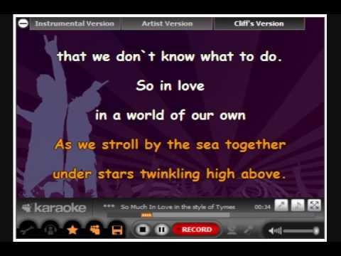 So Much In Love - MySpace Karaoke