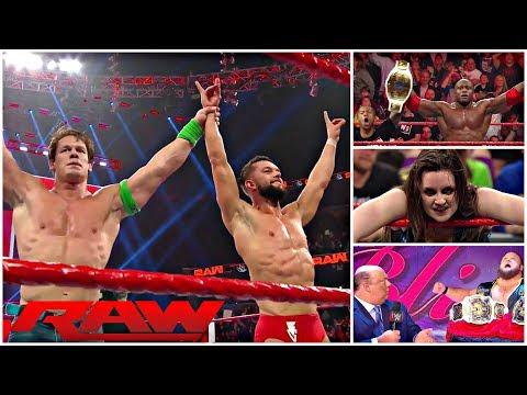 FINN BALOR WINS A TITLE SHOT || NEW Intercontinental Champion || WWE RAW 1/14/19 REVIEW