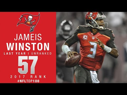 #57: Jameis Winston (QB, Buccaneers) | Top 100 Players of 2017 | NFL
