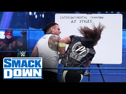 Jeff Hardy presents case to AJ Styles for title opportunity: SmackDown, August 14, 2020