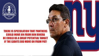 New York Giants- Carolina Panthers wont commit to Ron Rivera could he replace Pat Shurmur in 2020?