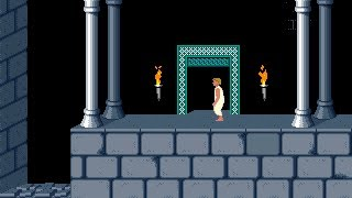 Prince of Persia 1 - Mirrored Levels (Jordan Mechner,) - Level 02