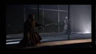 藤原竜也主演・蜷川幸雄演出による舞台「ハムレット」です。