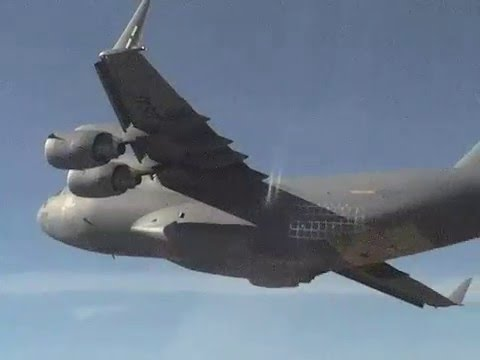 C-17 taking Off From Palmdale