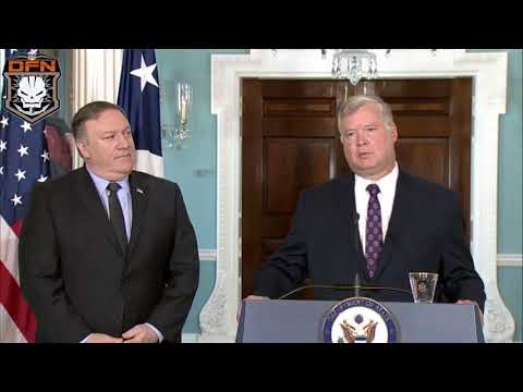 Secretary Pompeo makes a personnel announcement, at the Department of State WASHINGTON,UNITED STATES