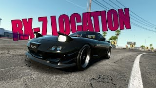 Need for Speed Payback | Abandoned RX 7 Location & Build