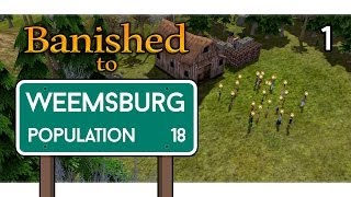 Banished Gameplay Let's Play - Farming and Houses - Episode 1