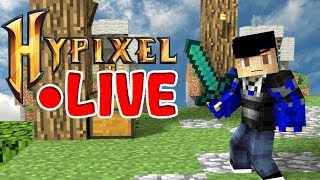 A Minecraft Stream Hypixel Bedwars Andamp Skywars Road To 6000 Subs ❤