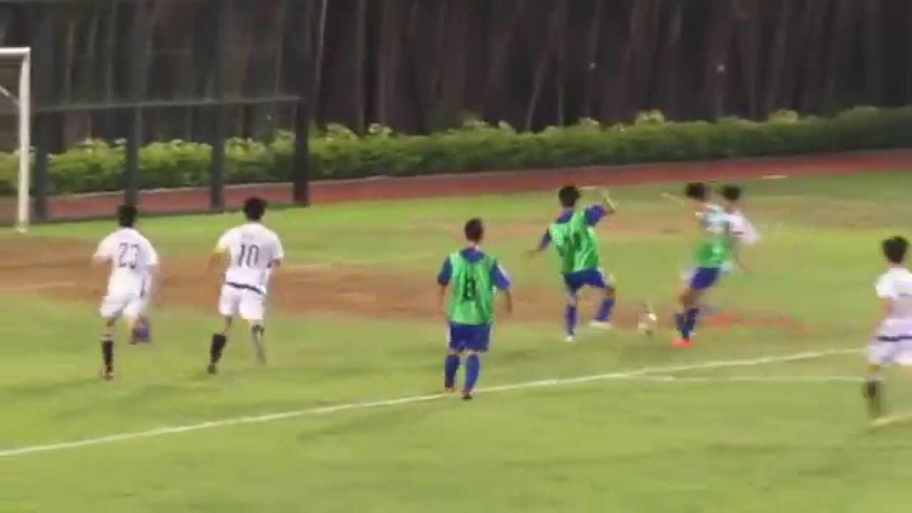 侯寶垣vs新會(2014.10.9.屯門學界足球甲組)精華 - YouTube