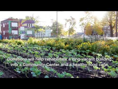 Detroit Urban Agrihood - Community Center & Cafe