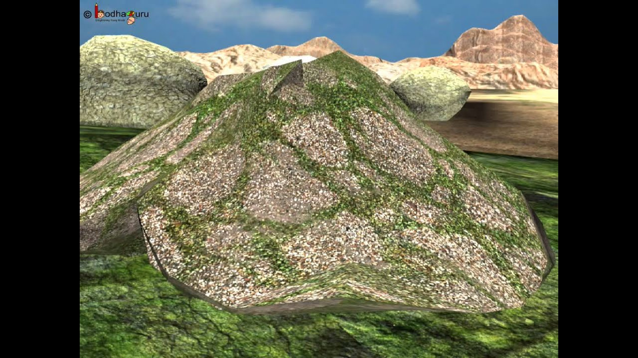 Science how was soil formed from rocks 3d animation for Soil information in english