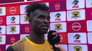 Absa Premiership | Black Leopards v Kaizer Chiefs | Post-match interview with Edwin Gyimah