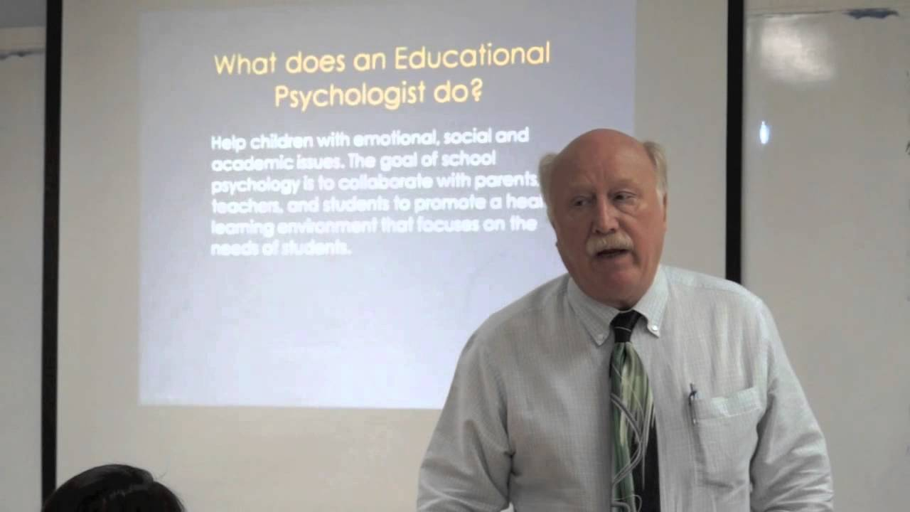 what does an educational psychologist do? - youtube, Human Body