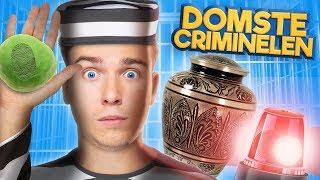 10 DOMSTE CRIMINELEN!