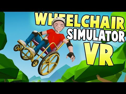 Wheelchair Simulator VR - The Most Deadly VR Game Ever! - Wheelchair Simulator VR Gameplay