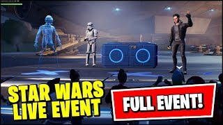 FORTNITE STAR WARS LIVE EVENT (FULL GAMEPLAY)