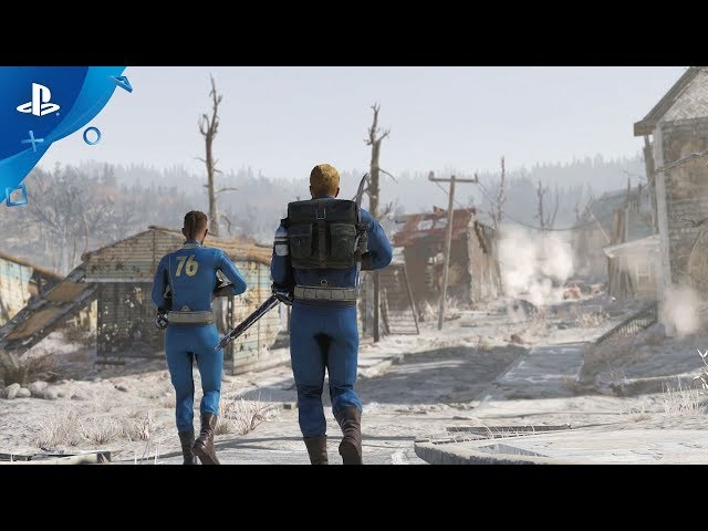 Fallout 76 - E3 2019 Nuclear Winter Gameplay Trailer | PS4