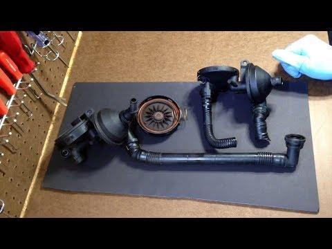 Replacing The Bmw M54 Crankcase Ventilation System Par