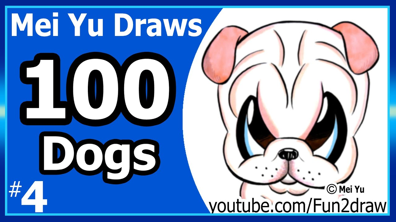 100 drawings challenge mei yu draws 100 dogs 4 shar pei puppy 100 drawings challenge mei yu draws 100 dogs 4 shar pei puppy ccuart Images