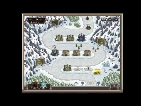 Kingdom Rush - Coldstep Mines Iron Challenge